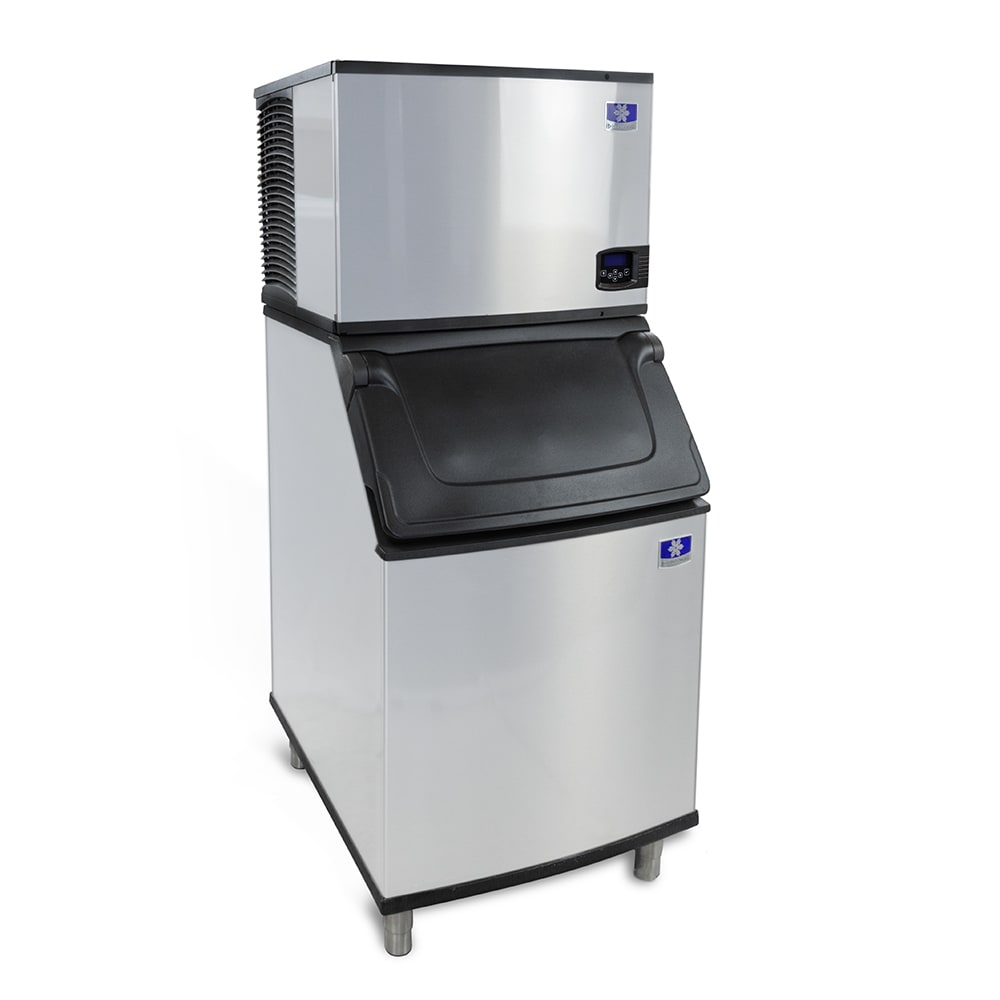 Manitowoc Ice IY-0606A-261/D-570 635 lb Indigo™ Half Cube Ice Maker w/ Bin - 532 lb Storage, Air Cooled, 208-230v/1ph