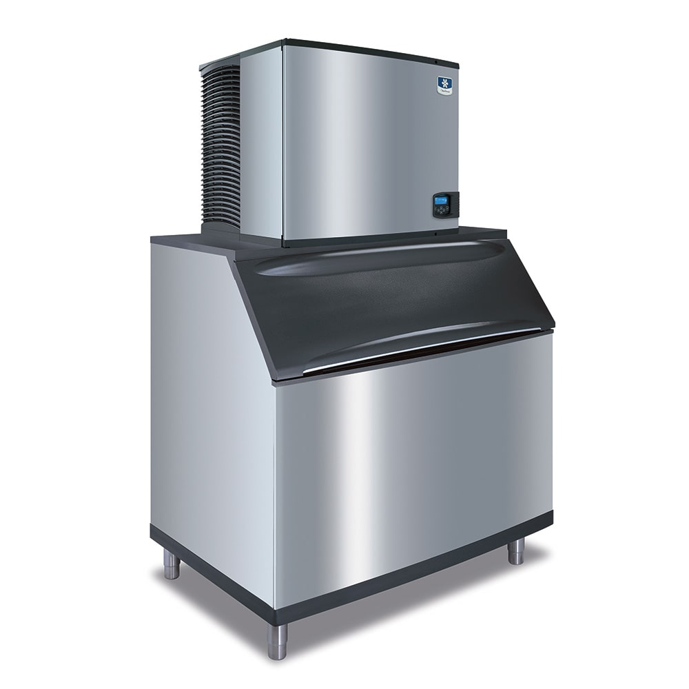 Manitowoc Ice IY-1106A-B-970 1200-lb/Day Half Cube Ice Maker w/ 710-lb Bin, Air Cooled, 208-230v/1ph