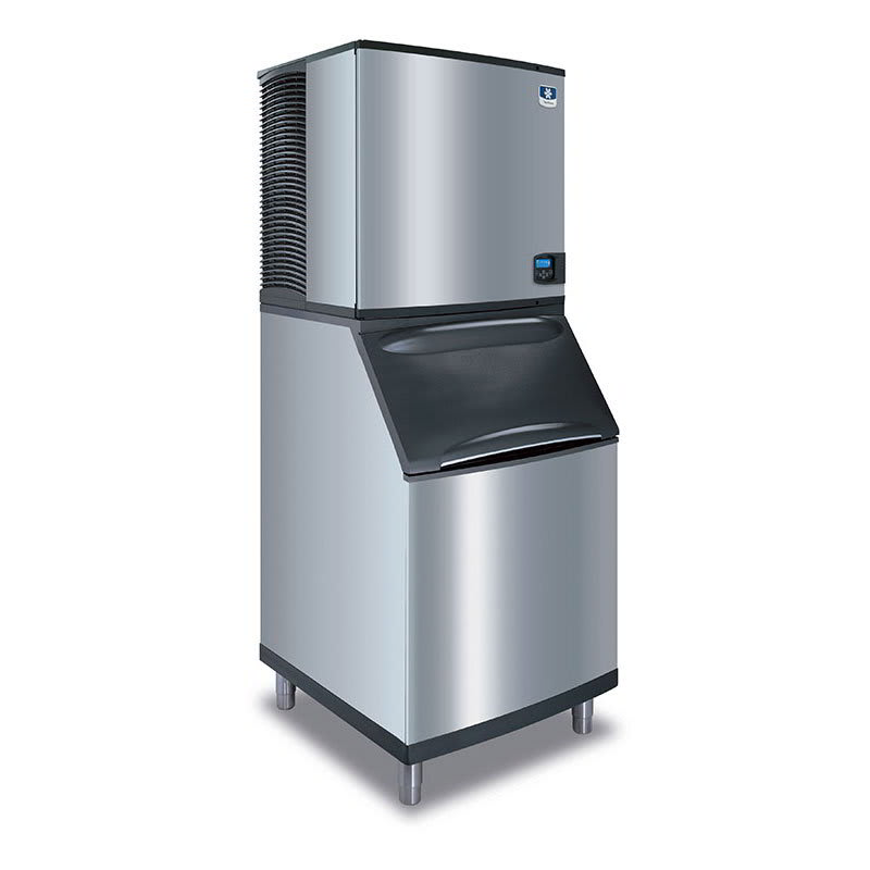 Manitowoc Ice IY-1106A-B-570 1200-lb/Day Half Cube Ice Maker w/ 430-lb Bin, Air Cooled, 208-230v/1