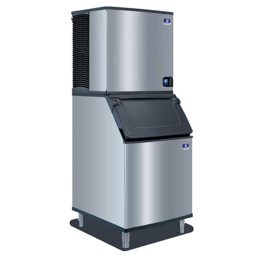 Manitowoc Ice IYF0900N/JCF0900/D570 855 lb Indigo NXT™ Half Cube Ice Maker w/ Bin - 532 lb Storage, Air Cooled, 208-230v/1ph
