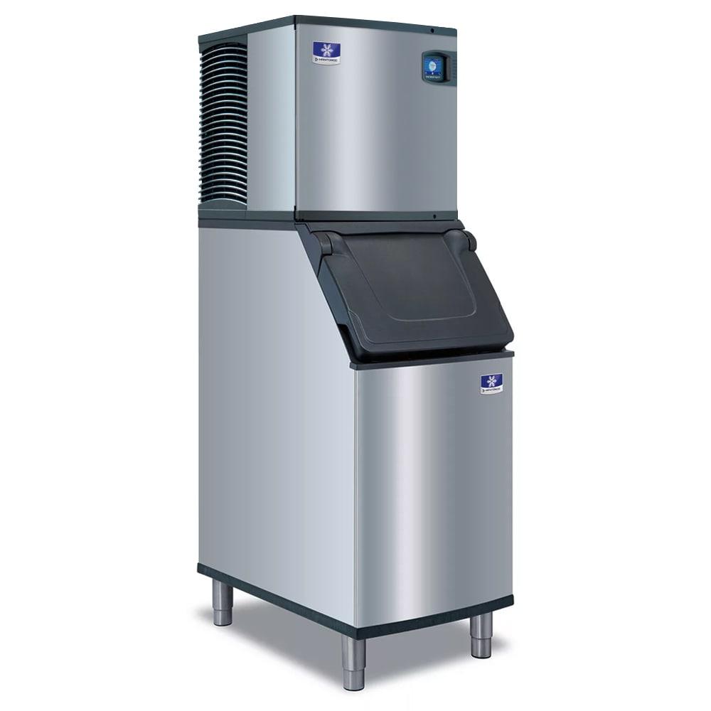 Manitowoc Ice IYT-0420A/D-420 460 lb Indigo NXT™ Half Cube Ice Maker w/ Bin - 383 lb Storage, Air Cooled, 115v