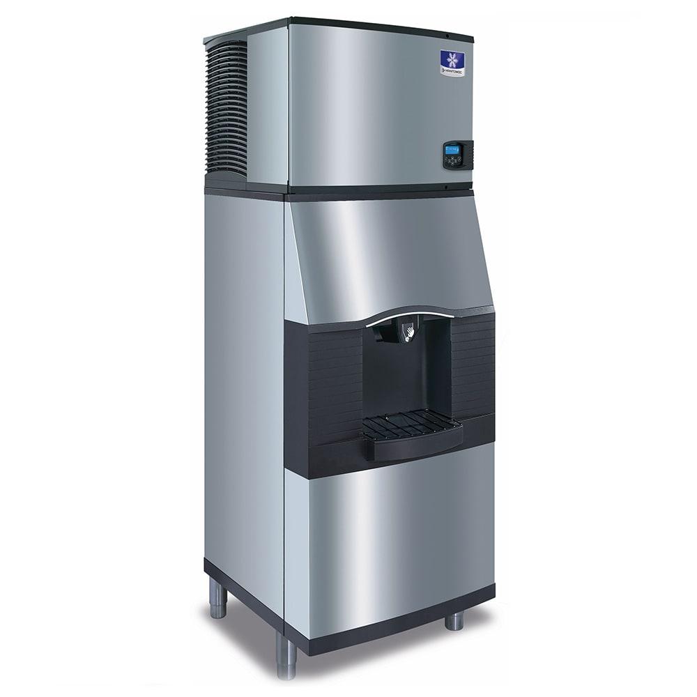 Manitowoc Ice IYT0500A/SPA310 550 lb Half Cube Ice Maker w/ Ice Dispenser - 180 lb Storage, Bucket Fill, 115v