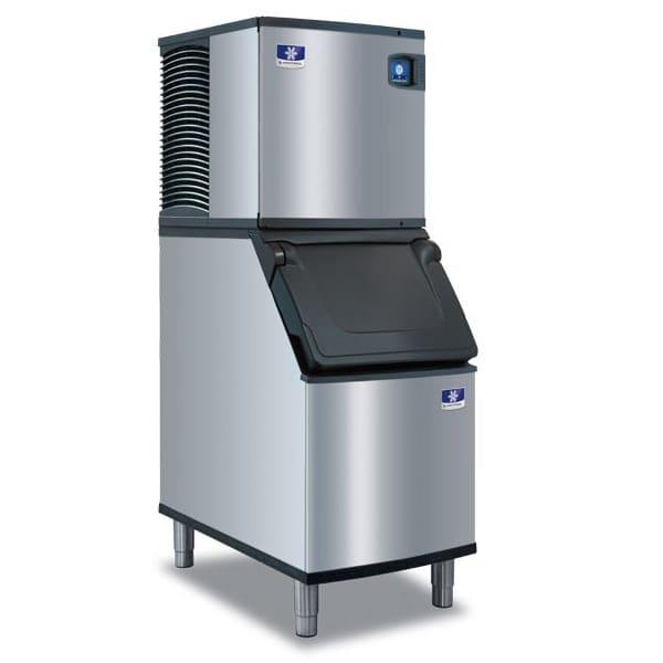 Manitowoc Ice IYT0620W/D420 560 lb Indigo NXT™ Half Cube Ice Maker w/ Bin - 383 lb Storage, Water Cooled, 115v