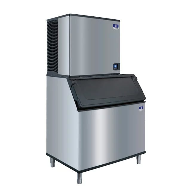 Manitowoc Ice IYT-1200A-261/D-970/K-00470 1213 lb Half Cube Ice Maker w/ Bin - 882 lb Storage, Air Cooled, 208-230v/1ph
