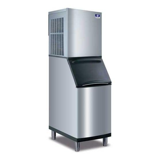 Manitowoc Ice RNF-0620A/D-420 591 lb Nugget Ice Maker w/ Bin - 383 lb Storage, Air Cooled, 115v