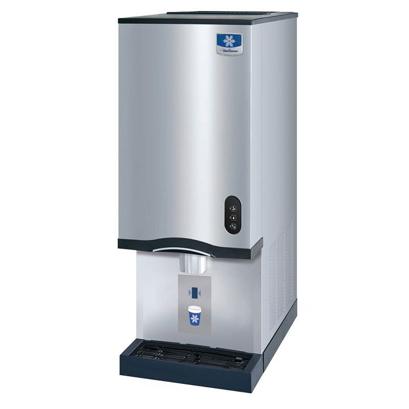Manitowoc Ice RNS-20A Countertop Nugget Ice Dispenser w/ 20-lb Storage - Cup Fill, 115v