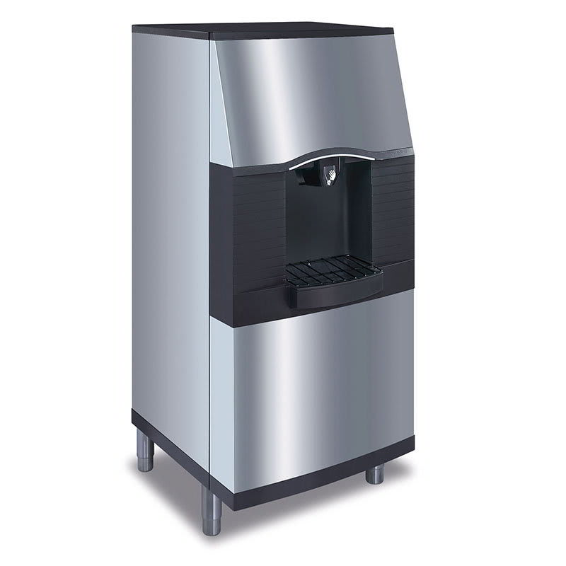 Manitowoc Ice SFA-291 Floor Model Cube Ice Dispenser w/ 180 lb Storage - Bucket Fill, 115v