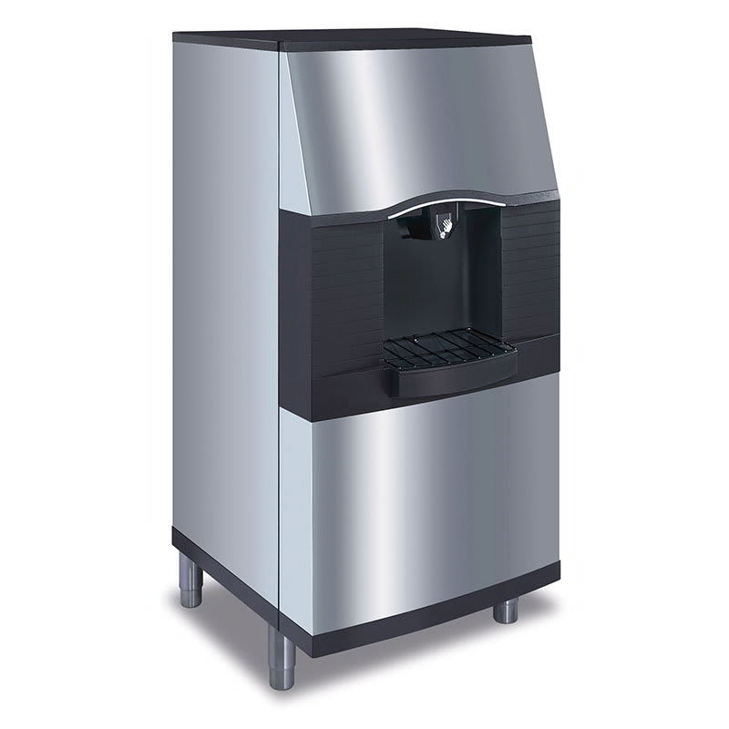 Manitowoc Ice SPA-160 Floor Model Cube Ice Dispenser - 120 lb Storage, Bucket Fill, 115v