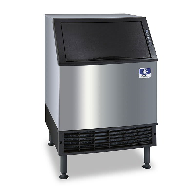 "Manitowoc Ice UR-0140A 38.5""H Full Cube Undercounter Ice Maker - 127 lbs/day, Air Cooled"