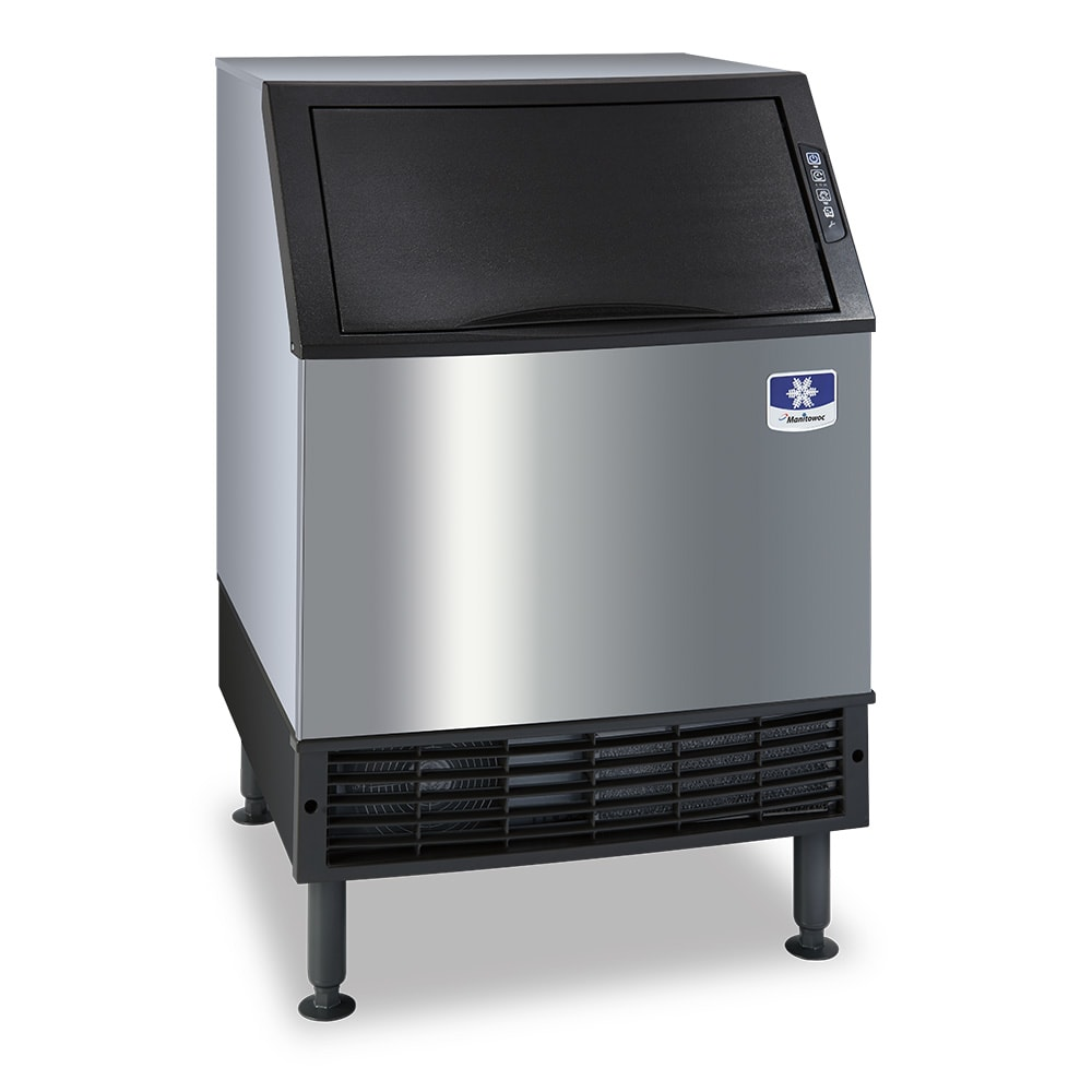 "Manitowoc Ice UY-0190A 38.5""H Half Cube Undercounter Ice Maker - 193 lbs/day, Air Cooled"