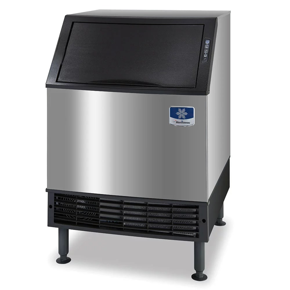 "Manitowoc Ice UYF-0140A 38.5""H Half Cube Undercounter Ice Maker - 137 lbs/day, Air Cooled"