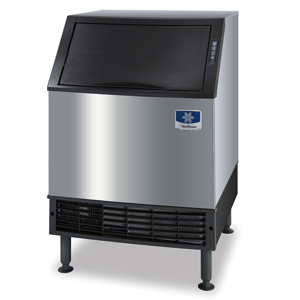Manitowoc Ice UYF-0240W Undercounter Half Cube Ice Maker - 207 lb/day, Water-Cooled, 115v
