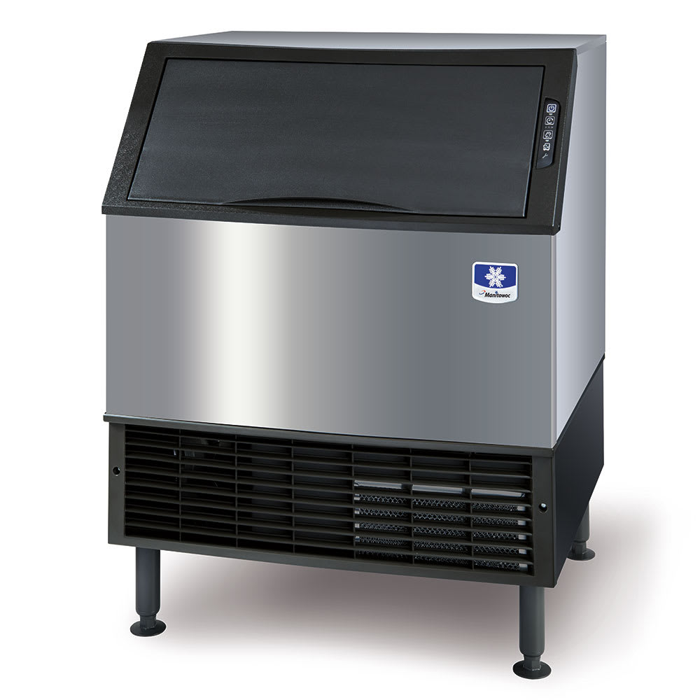 Manitowoc Ice UYF-0310W Undercounter Half Cube Ice Maker - 293 lb/day, Water-Cooled, 115v