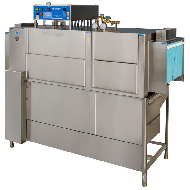 "Insinger ADMIRAL66-4 65.5"" High Temp Conveyor Dishwasher w/ Steam Tank Heat, No Booster, 208v/3ph"