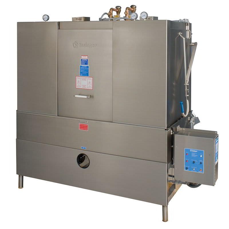 Insinger DA-3 Low Temp Door-Type Dishwasher w/ 50 Racks/hr, 208v/3ph