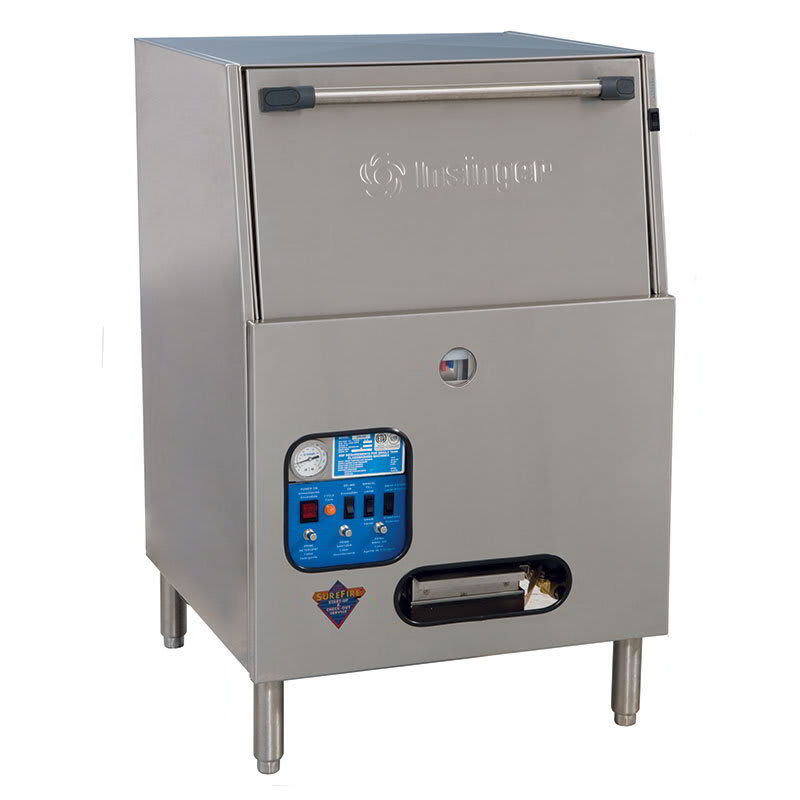 Insinger GW-40 Low Temp Rack Undercounter Dishwasher - (40) Racks/hr, 115v