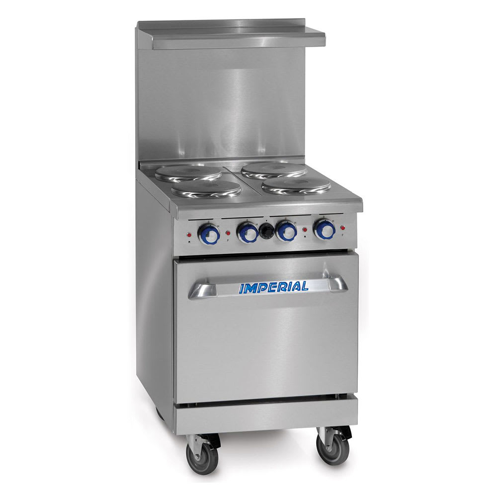 "Imperial IR-4 24"" 4 Burner Gas Range, LP"