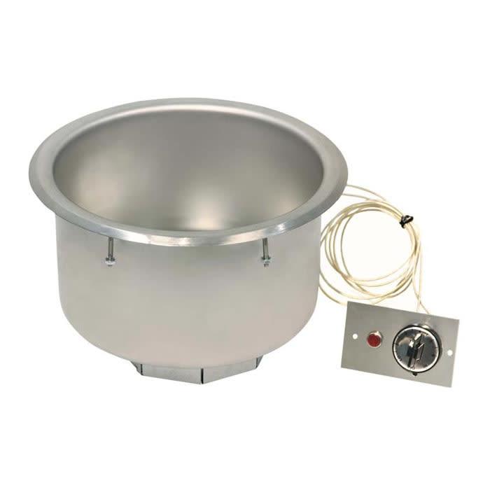 Piper Products 7QT-D-T-R 7 qt Drop-In Soup Warmer w/ Thermostatic Controls, 120v