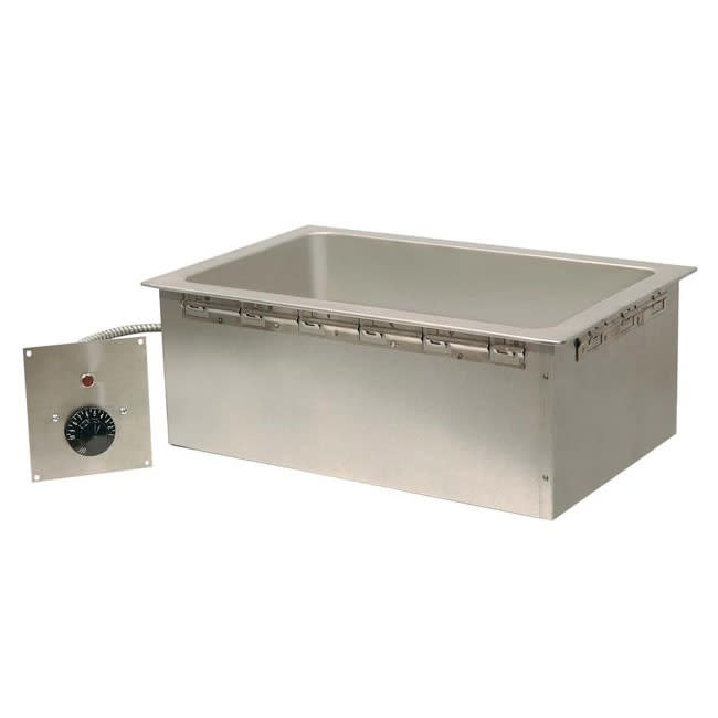 Piper Products CCF-OD-B-T-R Drop-In Hot Food Well w/ (1) Full Size Pan Capacity, 208v/1ph