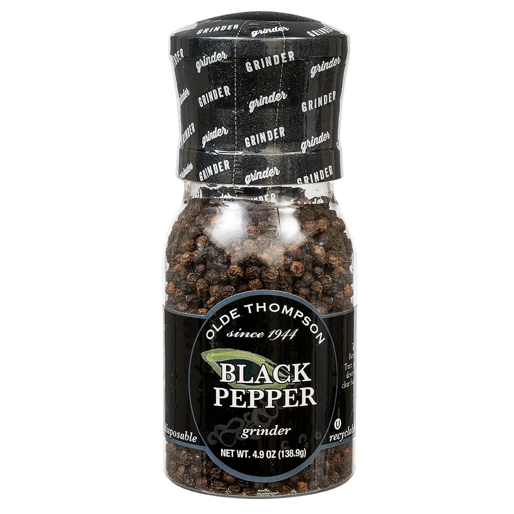 Olde Thompson 1020-02 4.9-oz Black Pepper Disposable Spice Grinder