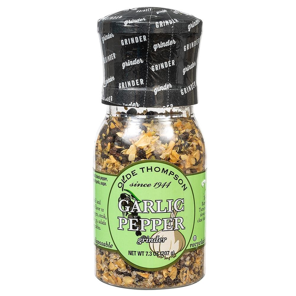 Olde Thompson 1020-07 7.3 oz Garlic Pepper Disposable Spice Grinder