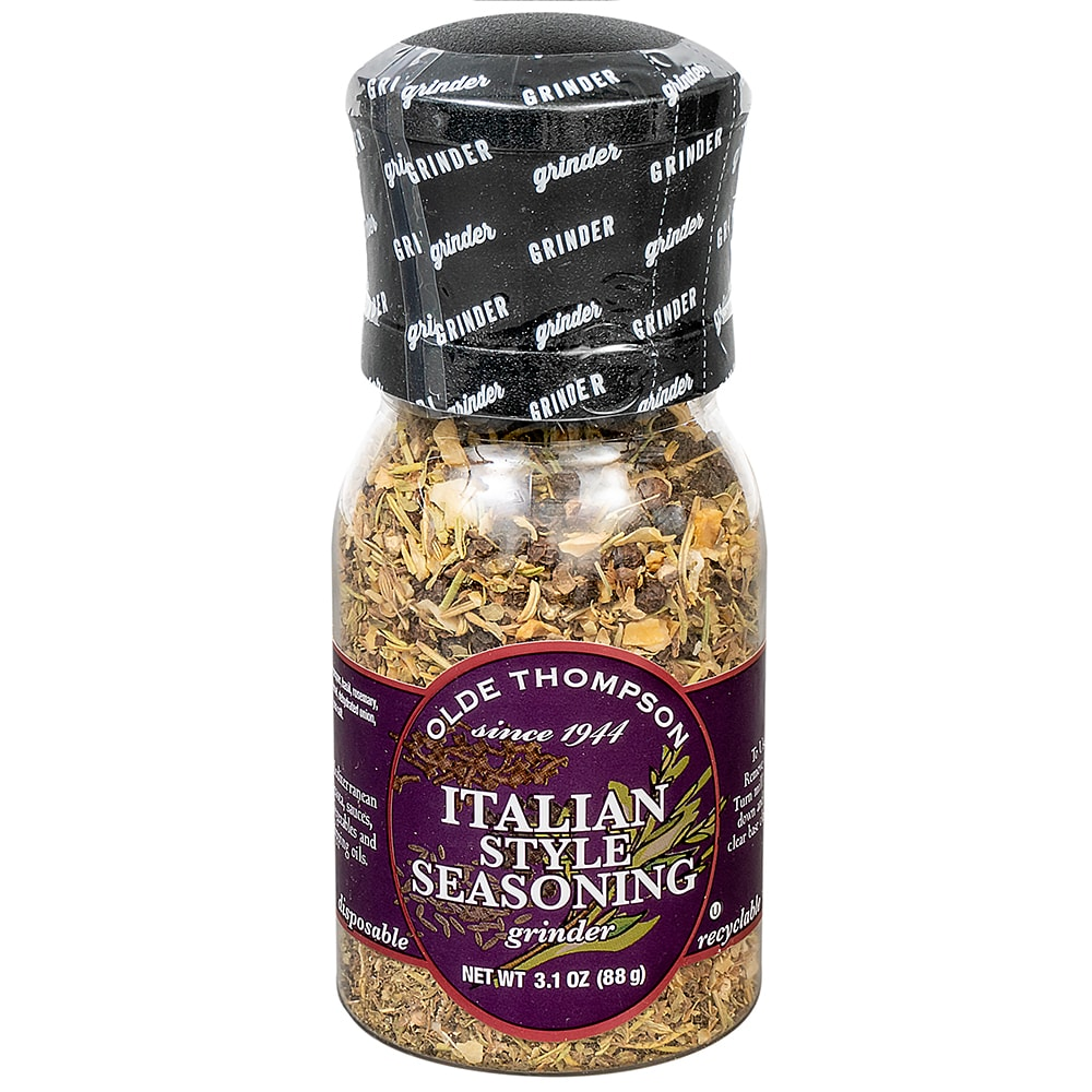 Olde Thompson 1020-09 3.1 oz Italian Seasoning Disposable Spice Grinder