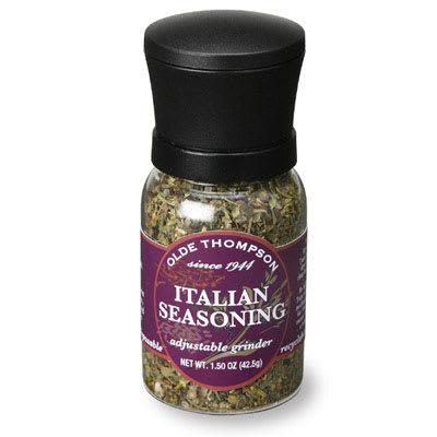 Olde Thompson 1040-09 1.5 oz Italian Seasoning Disposable Mini Grinder