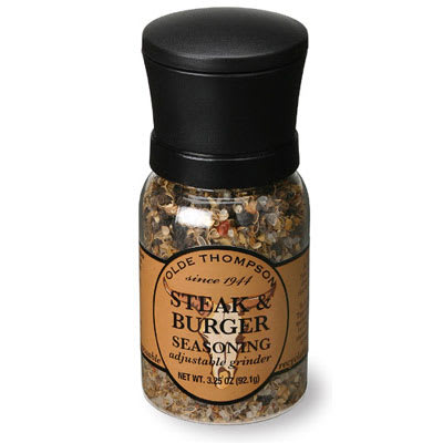 Olde Thompson 1040-10 3.25-oz Steak & Burger Seasoning Disposable Mini Grinder