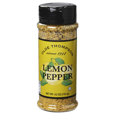 Olde Thompson 1700-04 4.2-oz Lemon Pepper