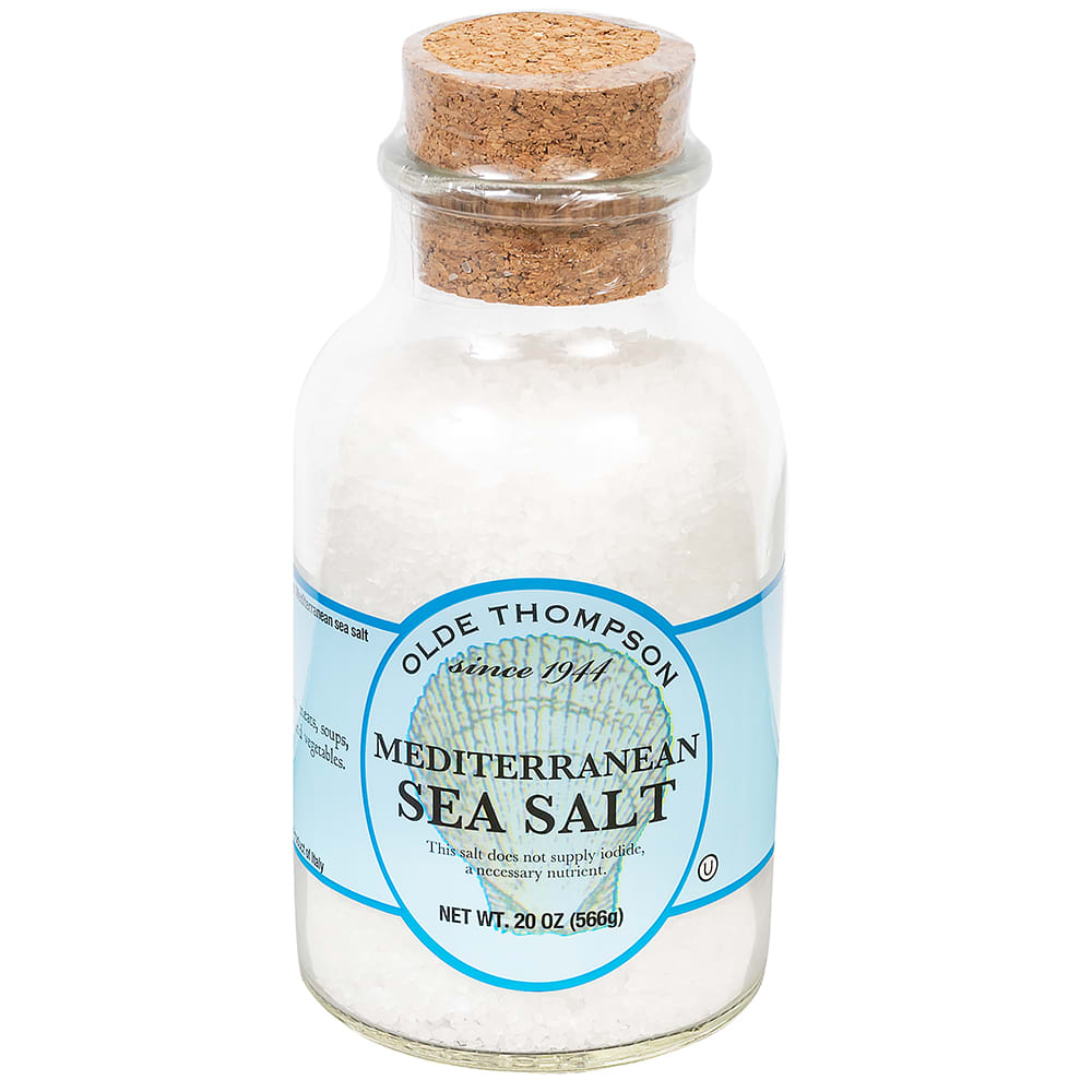 Olde Thompson 22-112 20 oz Uniodized Mediterranean Sea Salt