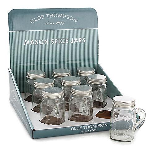 "Olde Thompson 22-356 3.5"" Individual Mason Spice Jar"