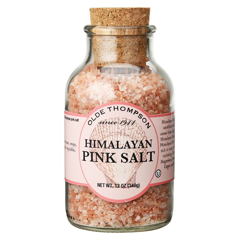 Olde Thompson 23-118 12-oz Pink Himalayan Salt Crystals