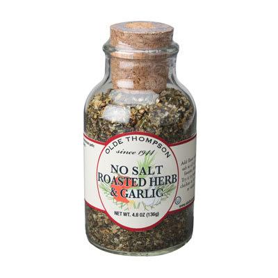 Olde Thompson 23-166 Gourmet No Salt Roasted Garlic & Herb Small Jar