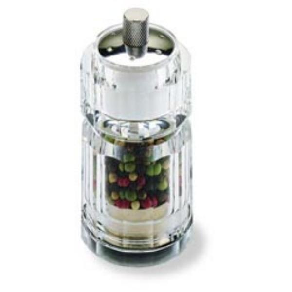"Olde Thompson 30124000 3.75"" Salt Shaker & Pepper Mill - Acrylic, Clear"