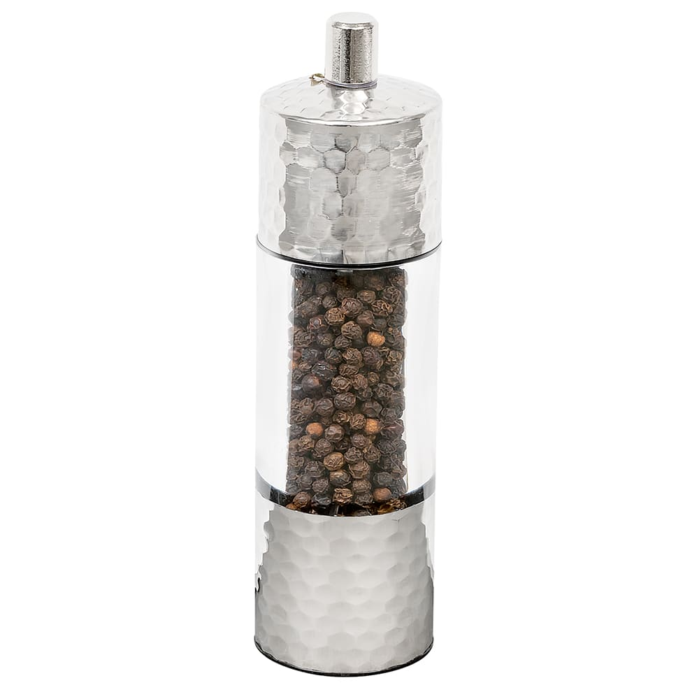 "Olde Thompson 3068-00 7""H Pepper Mill - Acrylic & Hammered Metal"
