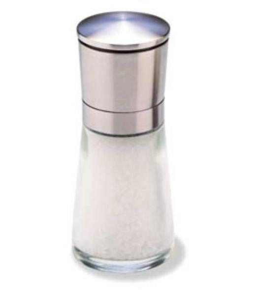 "Olde Thompson 38230000 5.5""H Salt Shaker - Clear"