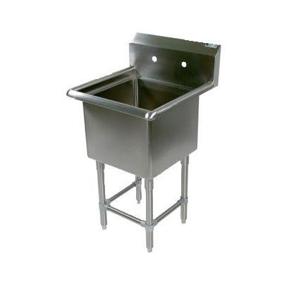 "John Boos 1PB24 Commercial Hand Sink w/ 24""L x 24""W x 12""D Bowl"