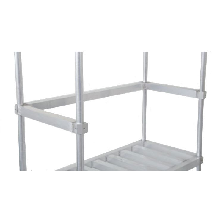 "John Boos ALKRS-2080 Rear Keg Strap for 80"" x 20"" Keg Racks, Aluminum"
