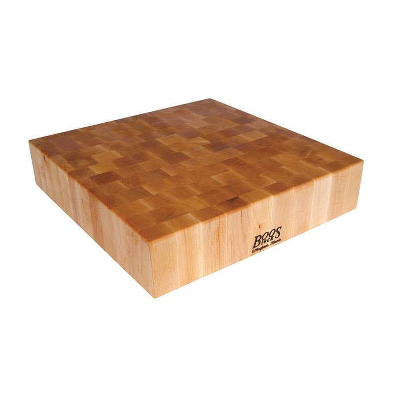 "John Boos BB03 Chopping Block, 30x30x6"", Hard Rock Maple, Reversible"