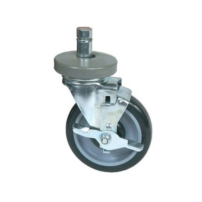 John Boos CASWS05-4 Locking Casters w/ Bumpers