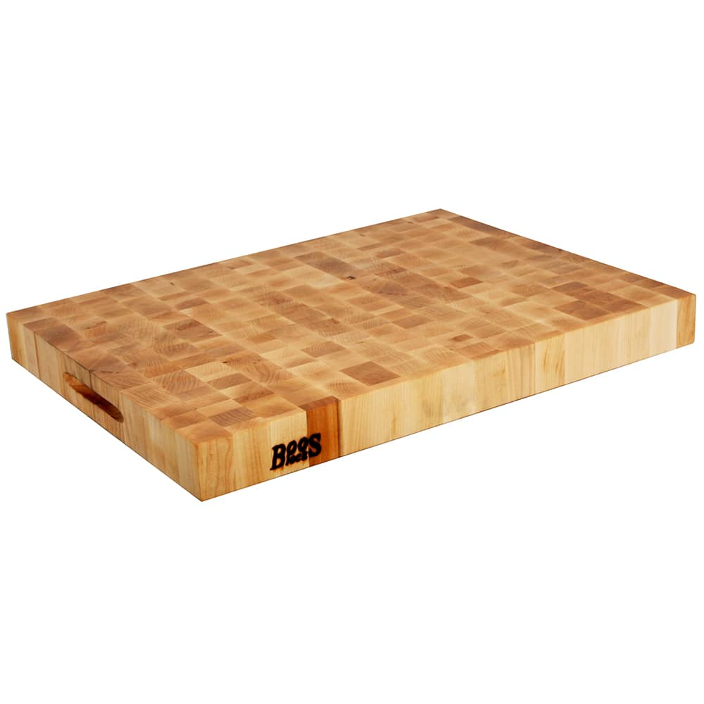 "John Boos CCB2418-225 Chopping Block, 24x18x2.25"", Hard Rock Maple, Reversible"