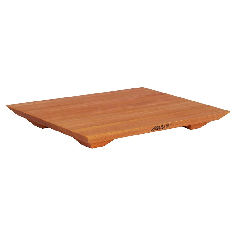 "John Boos CHY-FB201501 Cutting Board Gift Collection w/ Wooden Legs, 15x20x1"", Hard Rock Cherry"