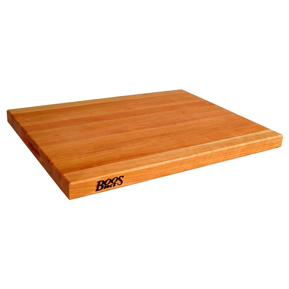 "John Boos CHY-R02 Reversible Cutting Board, 24x18x1.5"", Cherry"