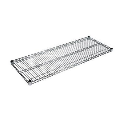 """John Boos CS-1436 Chrome Wire Shelf - 36""""W x 14""""D"""