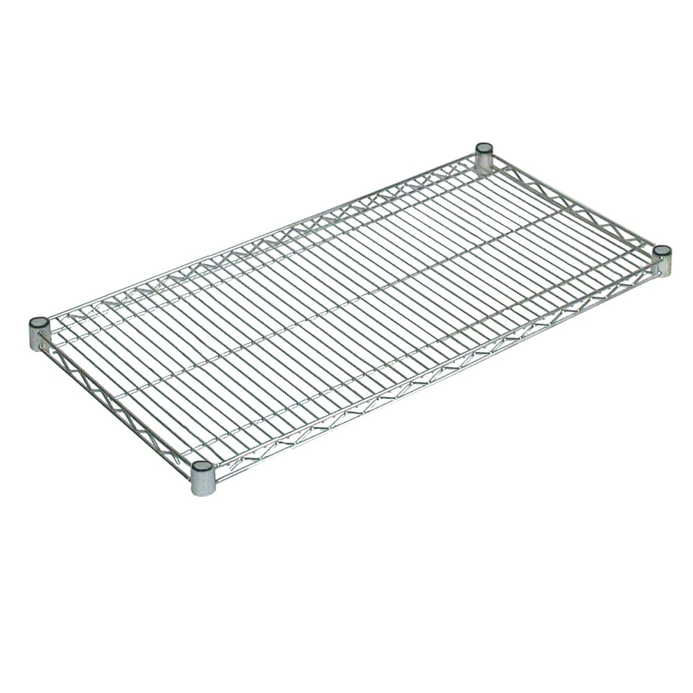 "John Boos CS-1830 Chrome Wire Shelf - 30""W x 18""D"