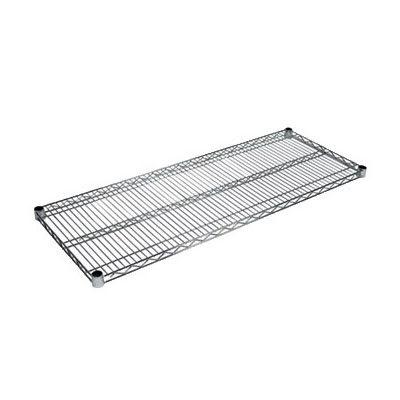 """John Boos CS-1860 Chrome Wire Shelf - 60""""W x 18""""D"""