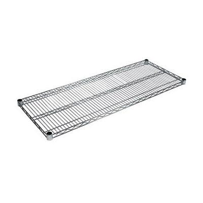 """John Boos CS-2124 Chrome Wire Shelf - 24""""W x 21""""D"""