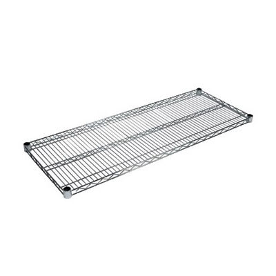 "John Boos CS-2148 Chrome Wire Shelf - 48""W x 21""D"