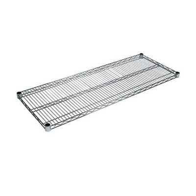 "John Boos CS-2430 Chrome Wire Shelf - 30""W x 24""D"