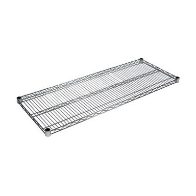 "John Boos CS-2442 Chrome Wire Shelf - 42""W x 24""D"